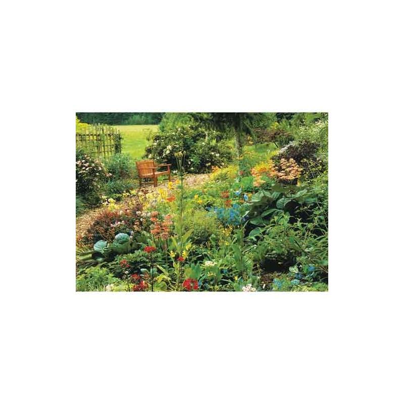 10157. Puzzle Trefl 1000 piezas Jardin en junio