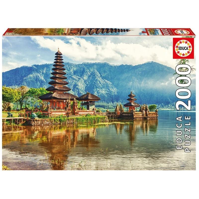 Educa 17674. Puzzle 2000 Piezas Templo Ulun Danu Bali