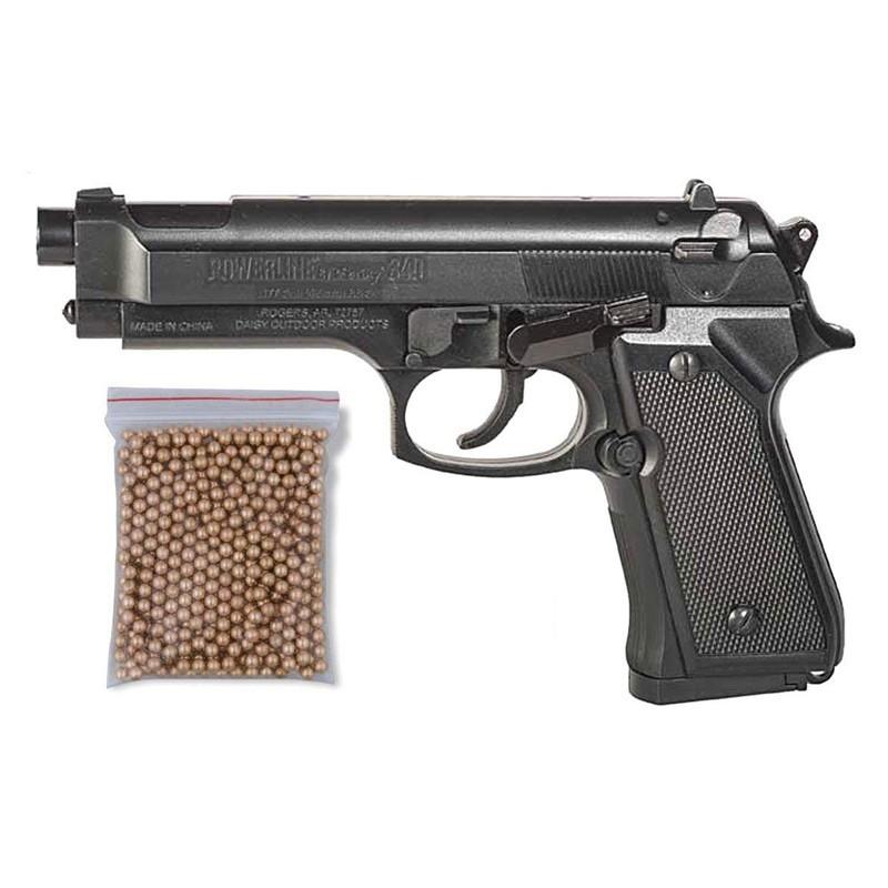 Pack Pistola Perdigón Daisy 340 Cal. 4.5mm BB 23413/38123
