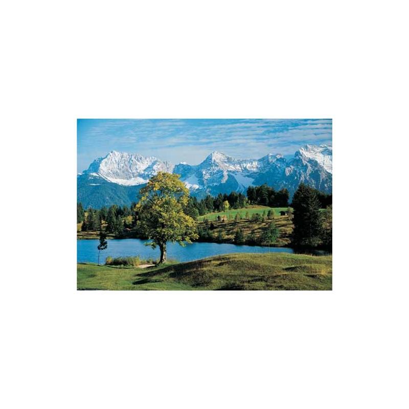 10103. Puzzle Trefl 1000 piezas Lago Gerold, Los Alpes