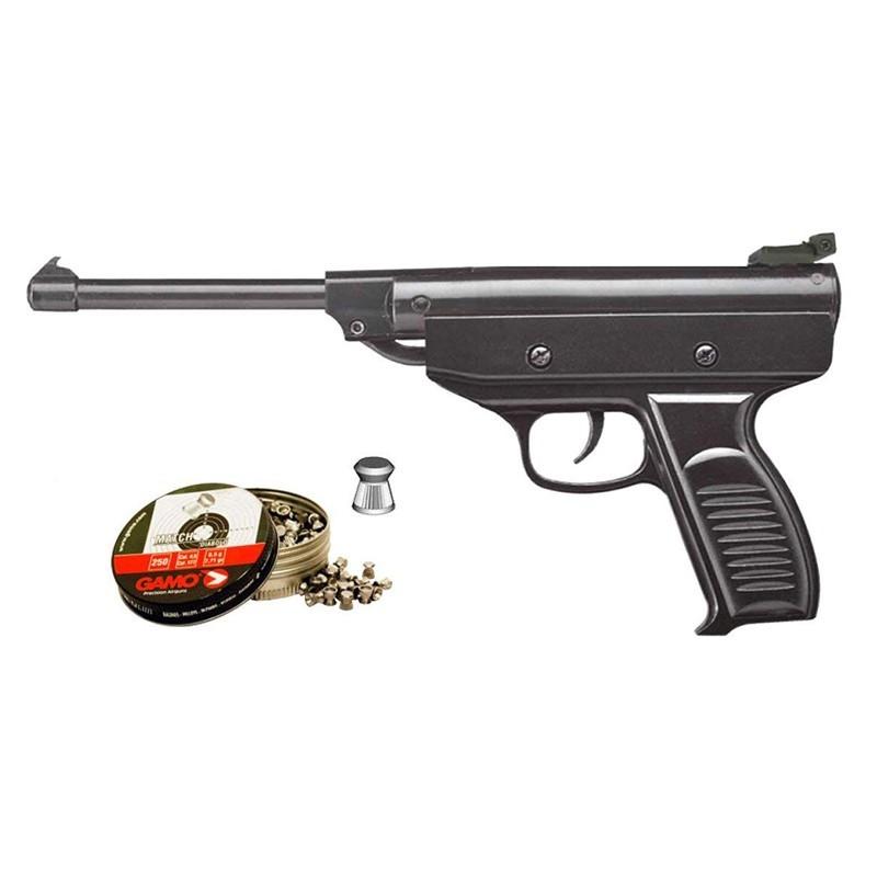 Pack Pistola Perdigón Zasdar S3 Cal. 4.5mm 17683/38203