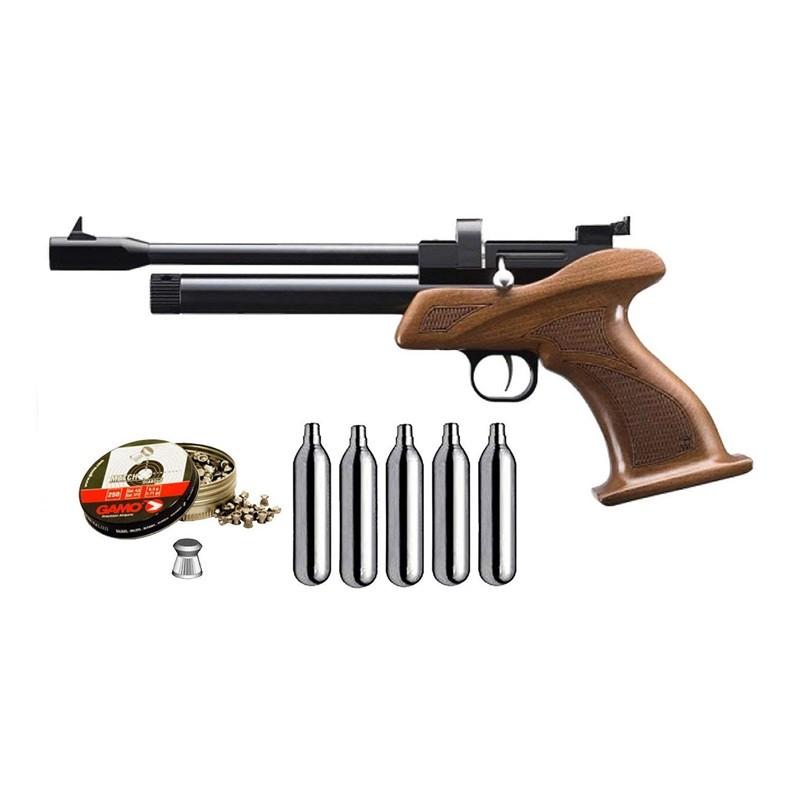 Pack Pistola Perdigón Zasdar CP1 Cal.4.5mm 22253/38203/29318