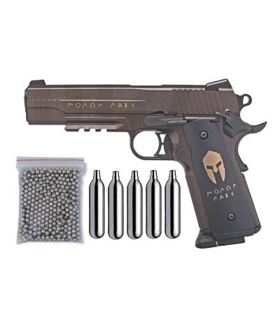 Pack Pistola Perdigón Sig Sauer 1911 Spartan Cal. 4.5mm 24058/38123/29318