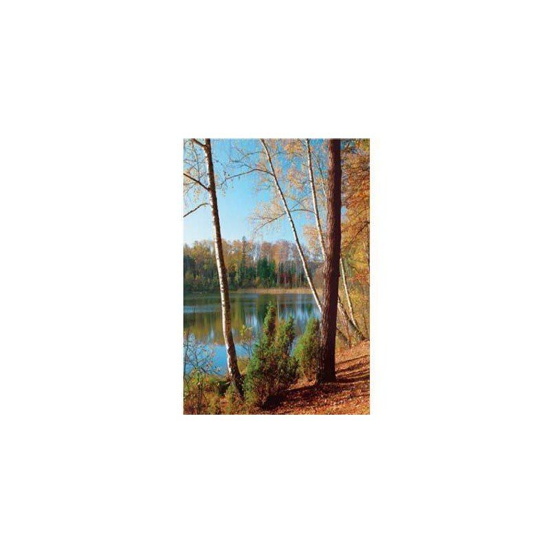10150. Puzzle Trefl 1000 piezas Olsztyn Lake District, Polonia