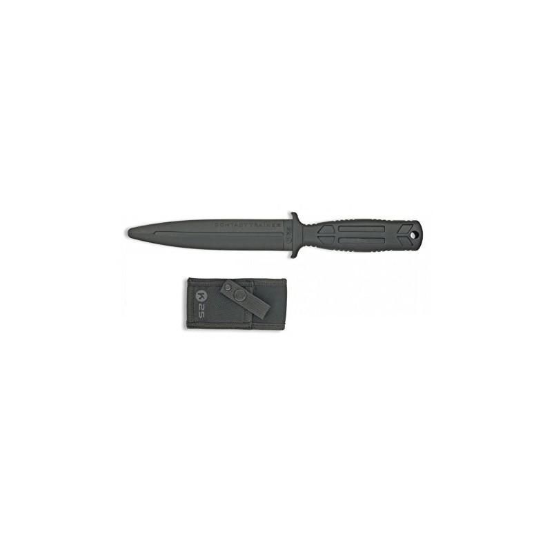 RUI 31994. Cuchillo De Entrenamiento RUI K25 Goma Negro