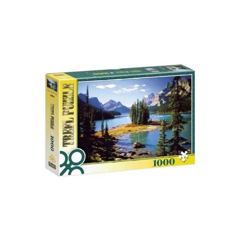 10097. Puzzle Trefl 1000 piezas Jasper park, Canada