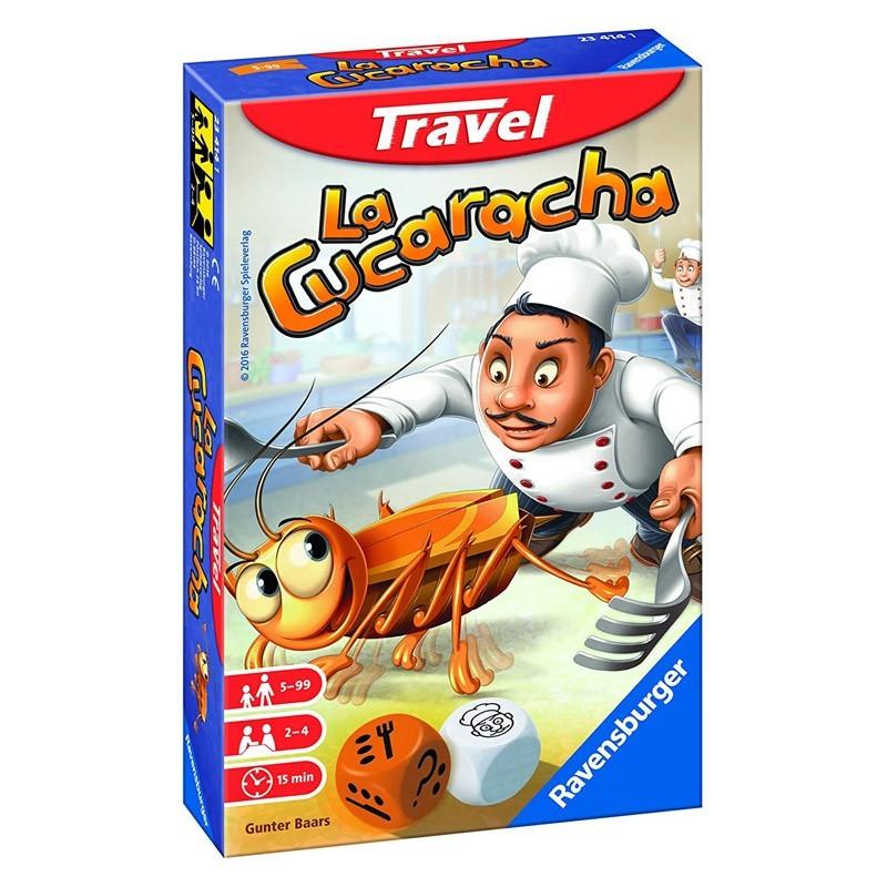 Ravensburger 23414. La Cucaracha Travel Edición Viaje