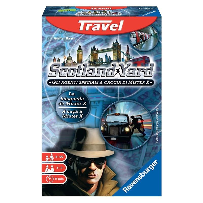 Ravensburger 23416. Scotland Yard Travel Edición Viaje
