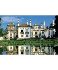 10166. Puzzle Trefl 1000 piezas Solar de Mateus, Portugal