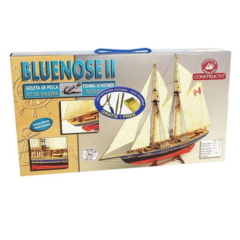 80618 Constructo. 1/35 Goleta Pesquera Bluenose II + Herramienta