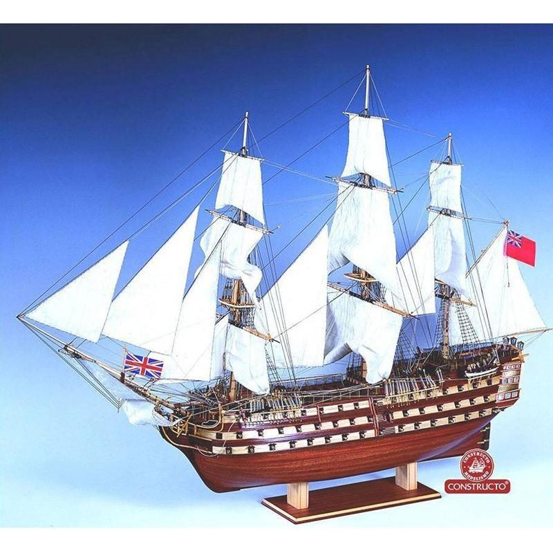 80833 Constructo. 1/94 navío H.M.S. Victory + Herramienta