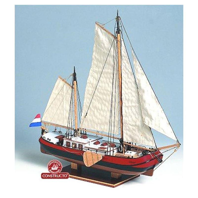 80831 Constructo. 1/60 Barcaza Fluvial Silhouet + Herramienta