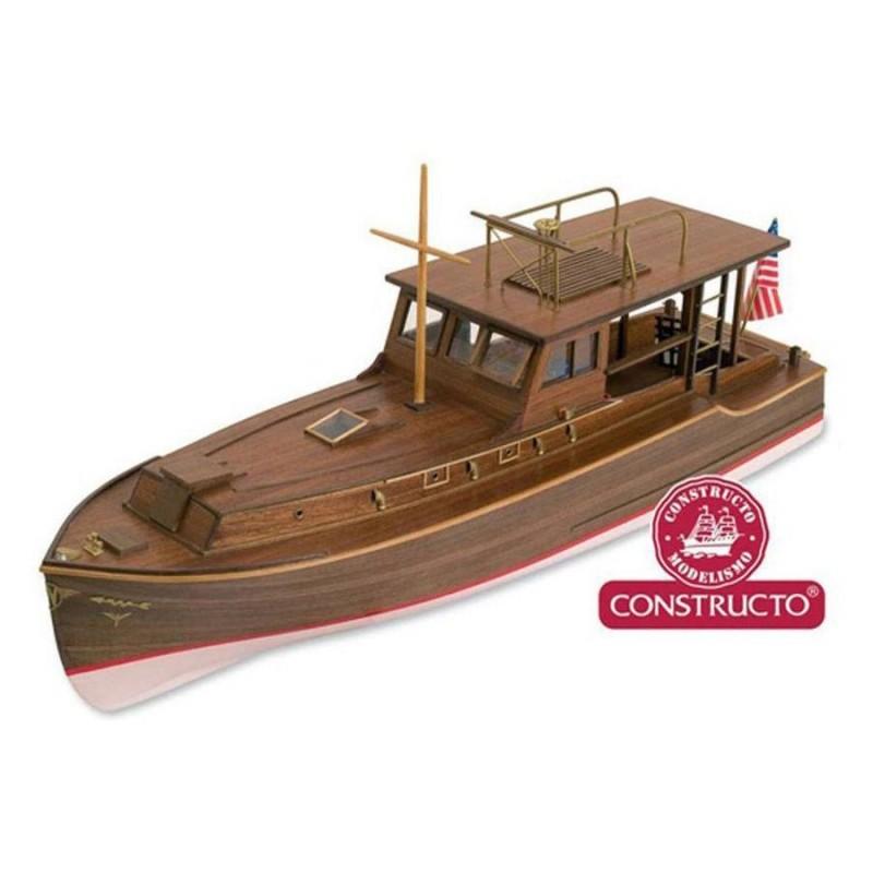 80841 Constructo. 1/27 Barca Pilar de Hemingway + Herramienta