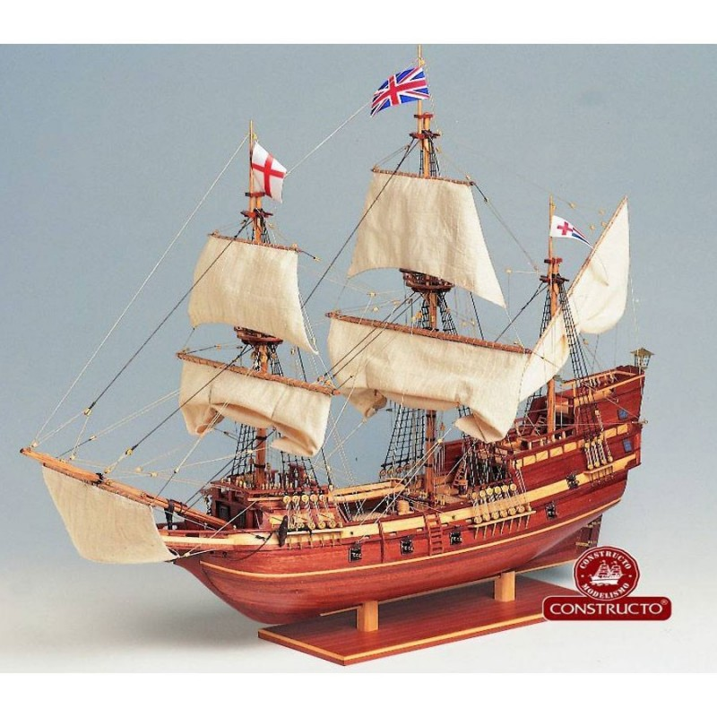 80819 Constructo. 1/65 Barco de carga Mayflower + Herramienta