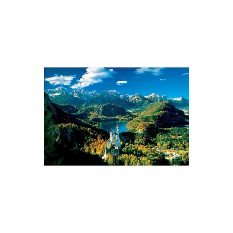 26048. Puzzle Trefl 1500 piezas Baviera en Otoño, Alemania