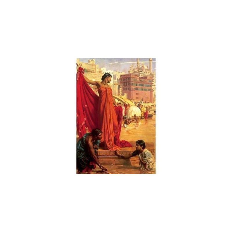 26067. Puzzle Trefl 1500 piezas Baño en el Ganges