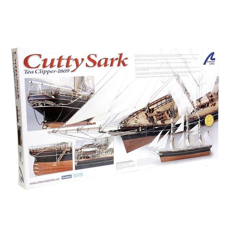22800 Artesanía Latina. 1/84 Clipper Cutty Sark + Herramienta