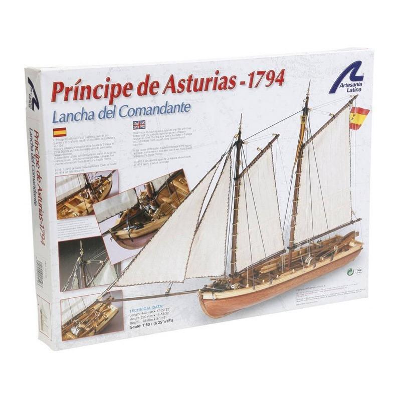 22150 Artesanía Latina. 1/50 Príncipe de Asturias + Herramienta