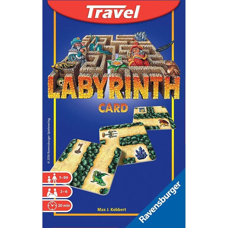 Ravensburger 23415. Labyrinth Travel Edición Viaje