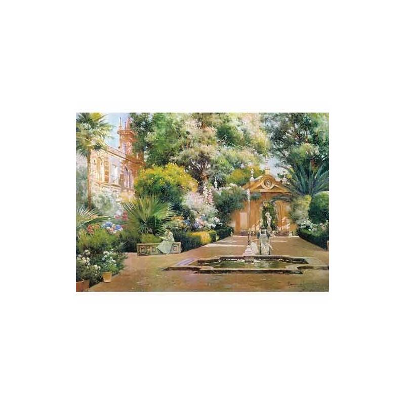 26052. Puzzle Trefl 1500 piezas Garden In Seville