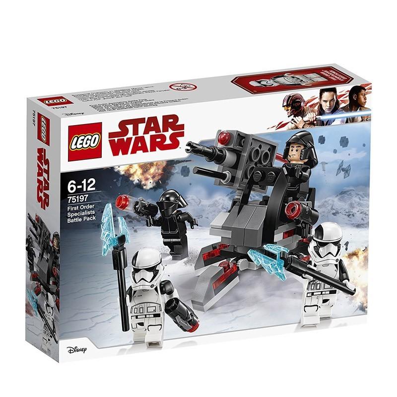 Lego 75197. Pack Combate Especialistas 1ª Orden Star Wars