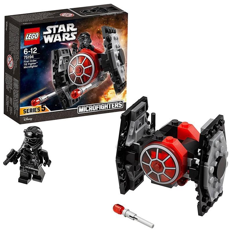 Lego 75194. Star Wars Microfighter: Caza Tie de la 1ª Orden