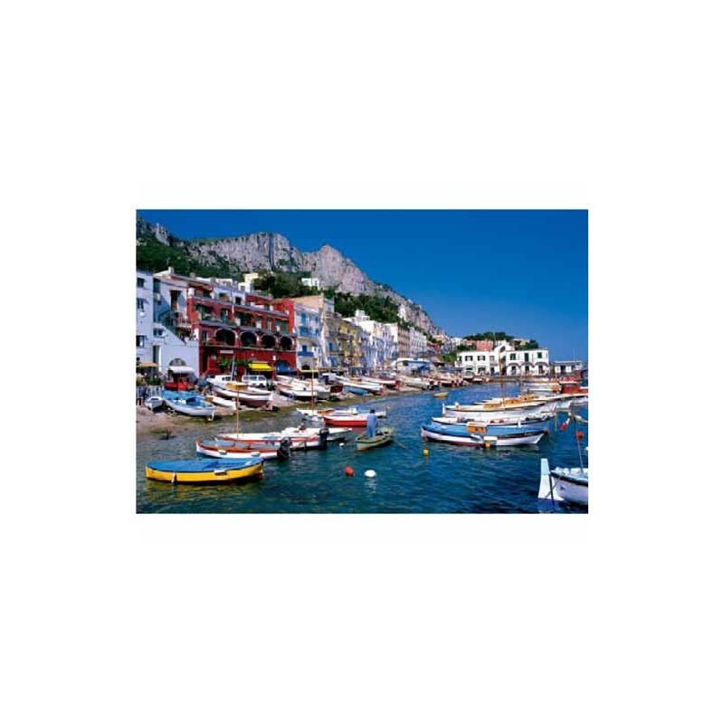 26060. Puzzle Trefl 1500 piezas Marina Grande, Capri