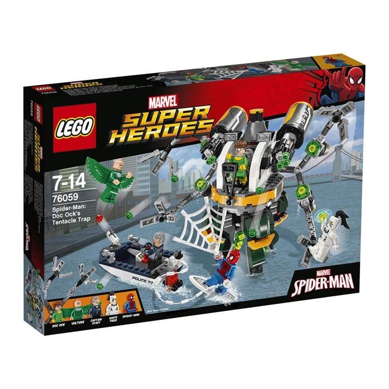 Lego 76059. Trampa Tentaculosa de Doc Ock
