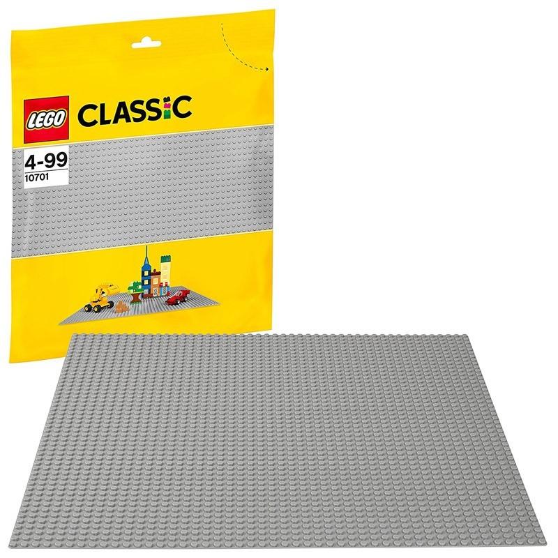Lego 10701. Base Color Gris
