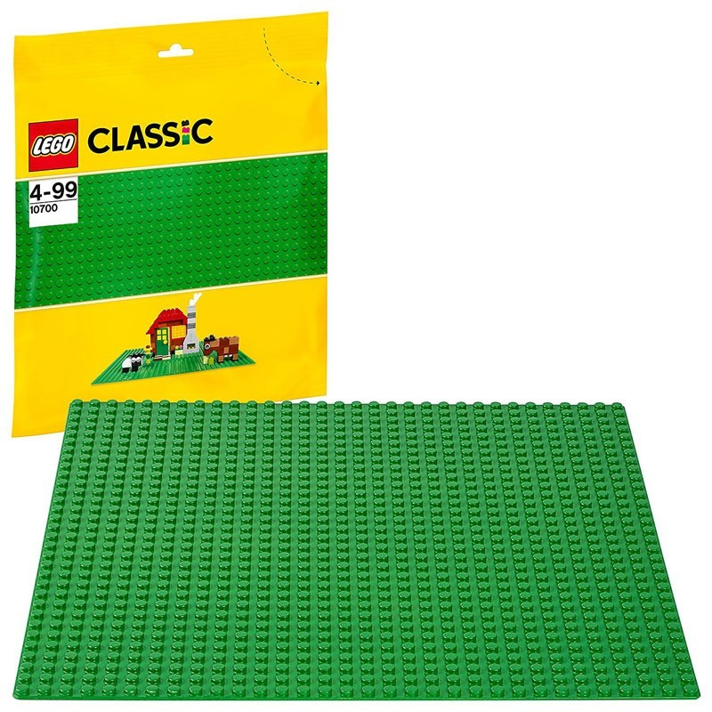 Lego 10700. Base Color Verde