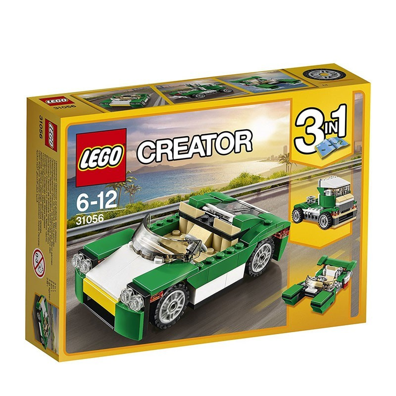 Lego 31056. Descapotable 3 en 1