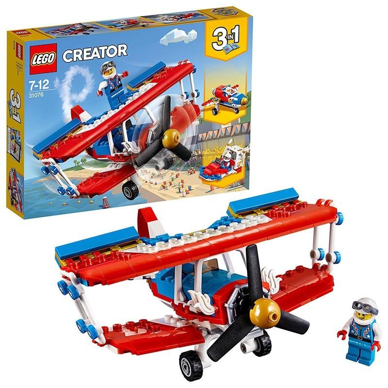 Lego 31076. Audaz Avión Acrobático 3 en 1