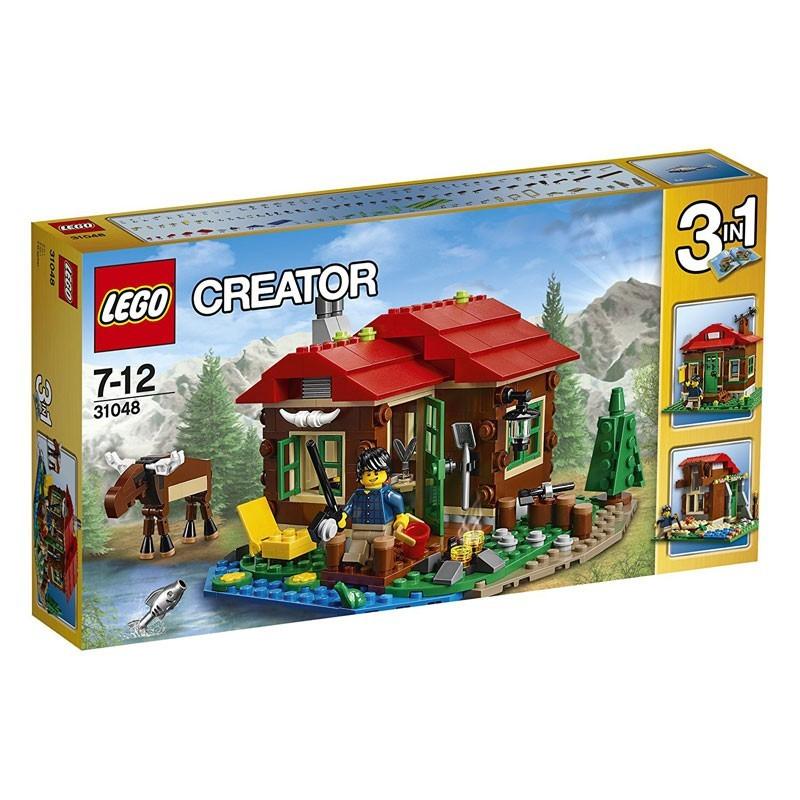 Lego 31048. Cabaña Junto al Lago 3 en 1