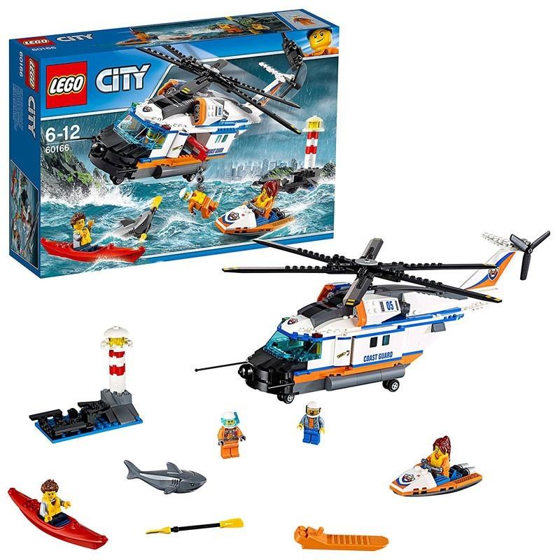 Lego 60166. Gran Helicóptero de Rescate