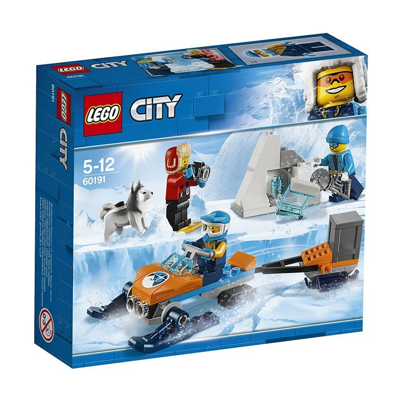 Lego 60191. Equipo de Exploración en el Ártico