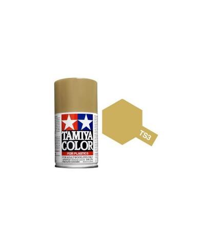 Tamiya 85003. Spray TS-3 Pintura Esmalte Amarillo Oscuro
