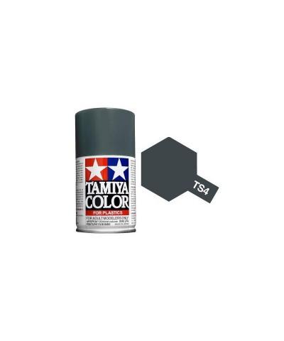Tamiya 85004. Spray TS-4 Pintura Esmalte Gris Alemán