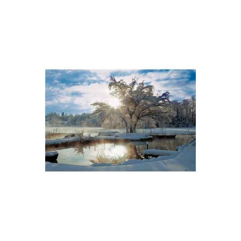 """27044. Puzzle Trefl 2000 pzas Amanecer en el Lago """"Dawn at Lake"""""""