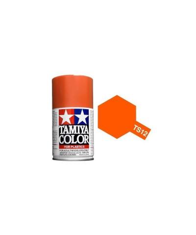 Tamiya 85012. Spray TS-12 Pintura Esmalte Naranja