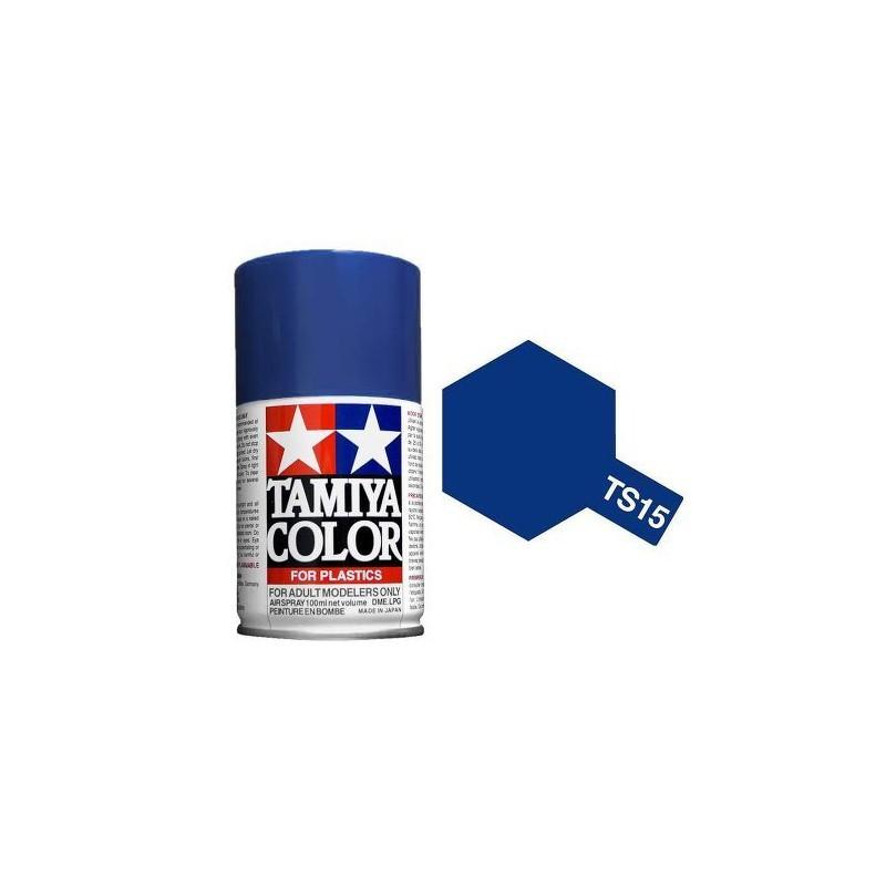 Tamiya 85015. Spray TS-15 Pintura Esmalte Azul