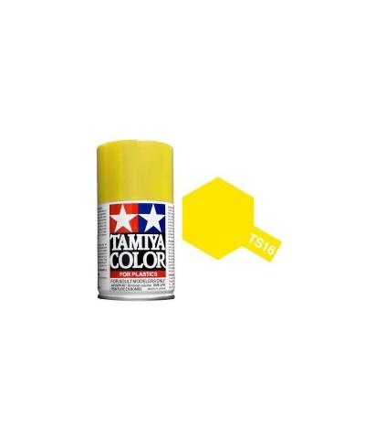 Tamiya 85016. Spray TS-16 Pintura Esmalte Amarillo