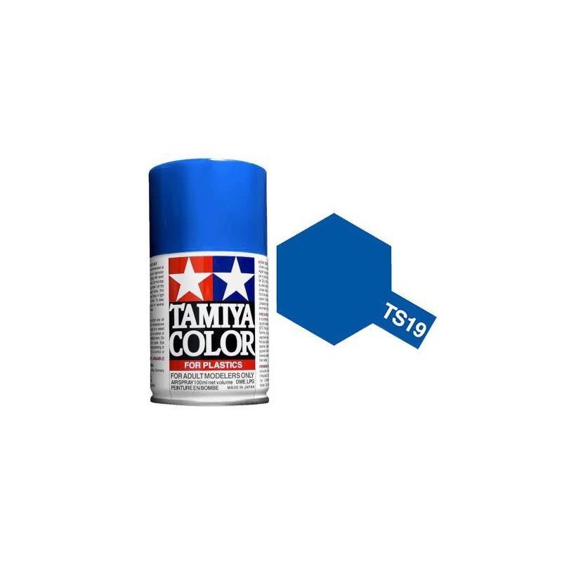 Tamiya 85019. Spray TS-19 Pintura Esmalte Azul Metalizado