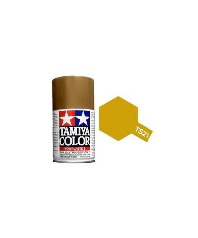 Tamiya 85021. Spray TS-21 Pintura Esmalte Dorado