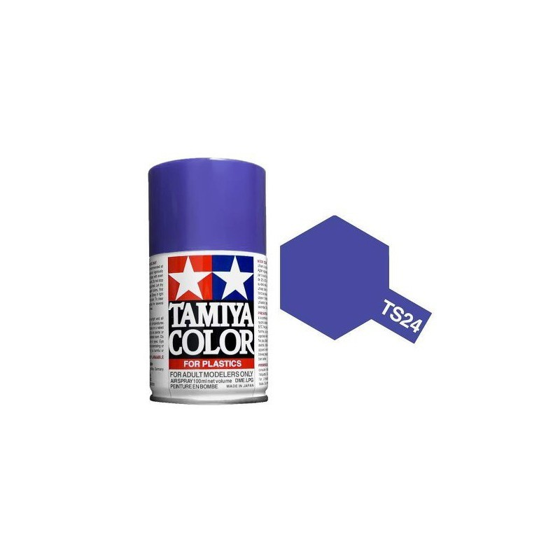 Tamiya 85024. Spray TS-24 Pintura Esmalte Violeta
