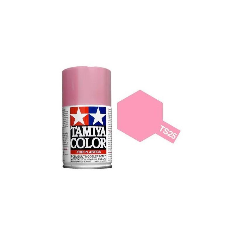Tamiya 85025. Spray TS-25 Pintura Esmalte Rosa