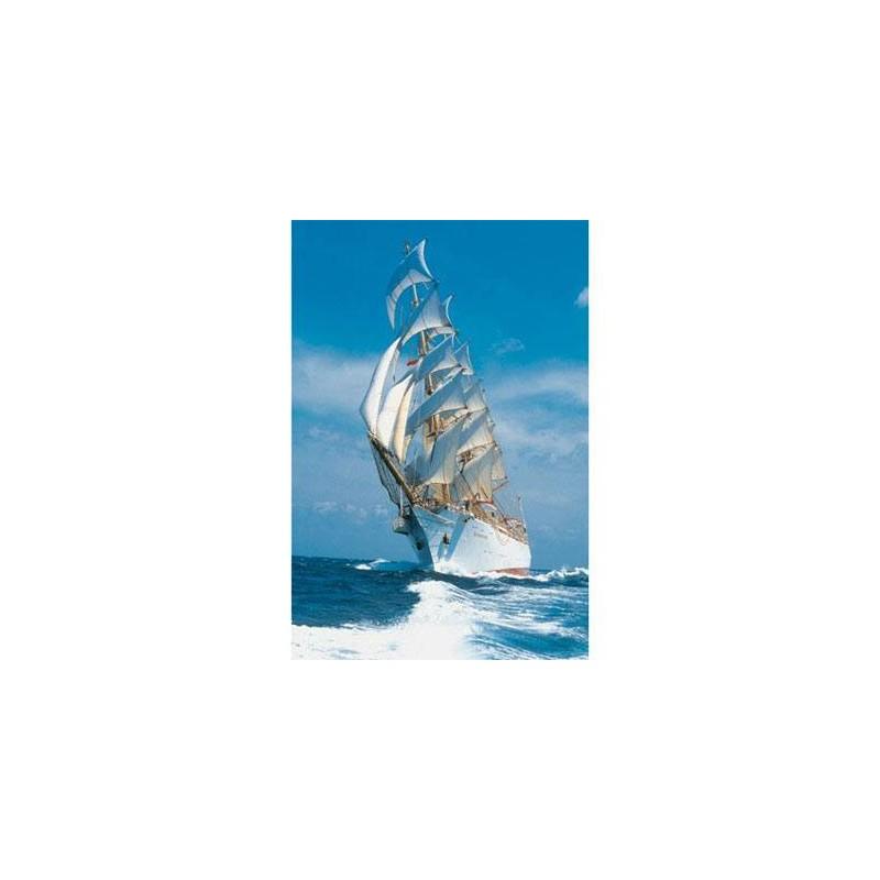 Trefl 27040. Puzzle 2000 piezas Sailing Ship Dar Modziesy