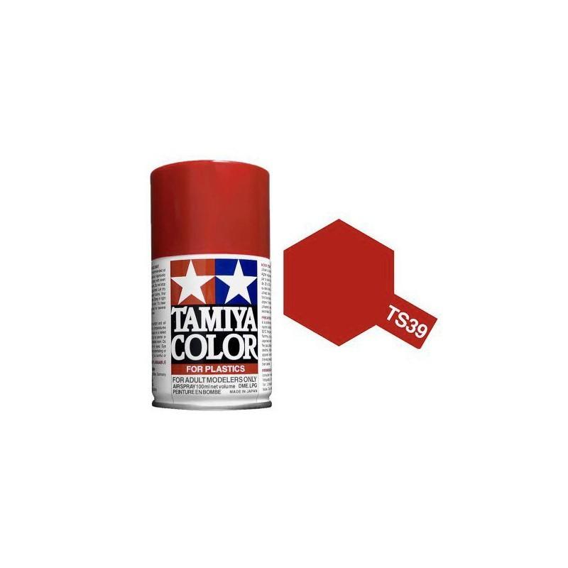 Tamiya 85039. Spray TS-39 Pintura Esmalte Rojo Mica