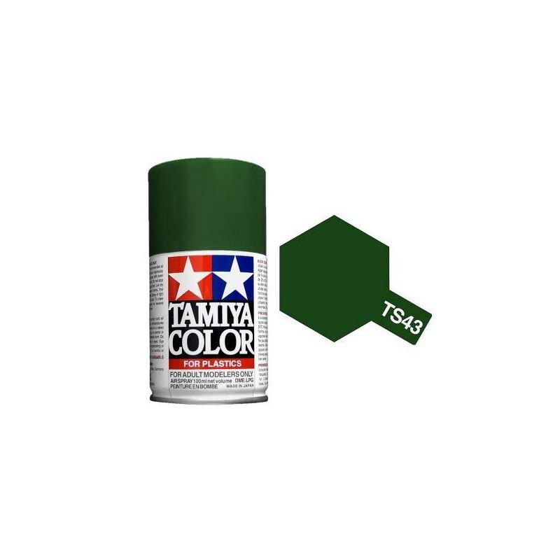 Tamiya 85043. Spray TS-43 Pintura Esmalte Verde Competición