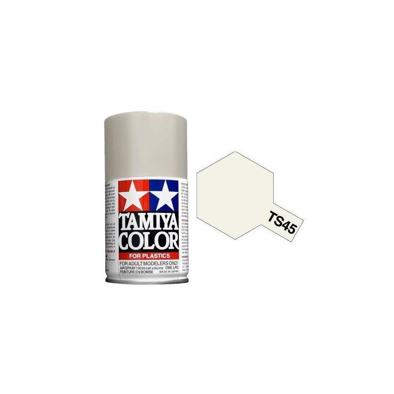 Tamiya 85045. Spray TS-45 Pintura Esmalte Blanco Perla