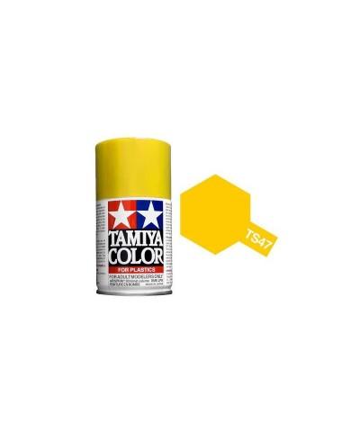 Tamiya 85047. Spray TS-47 Pintura Esmalte Amarillo Cromado